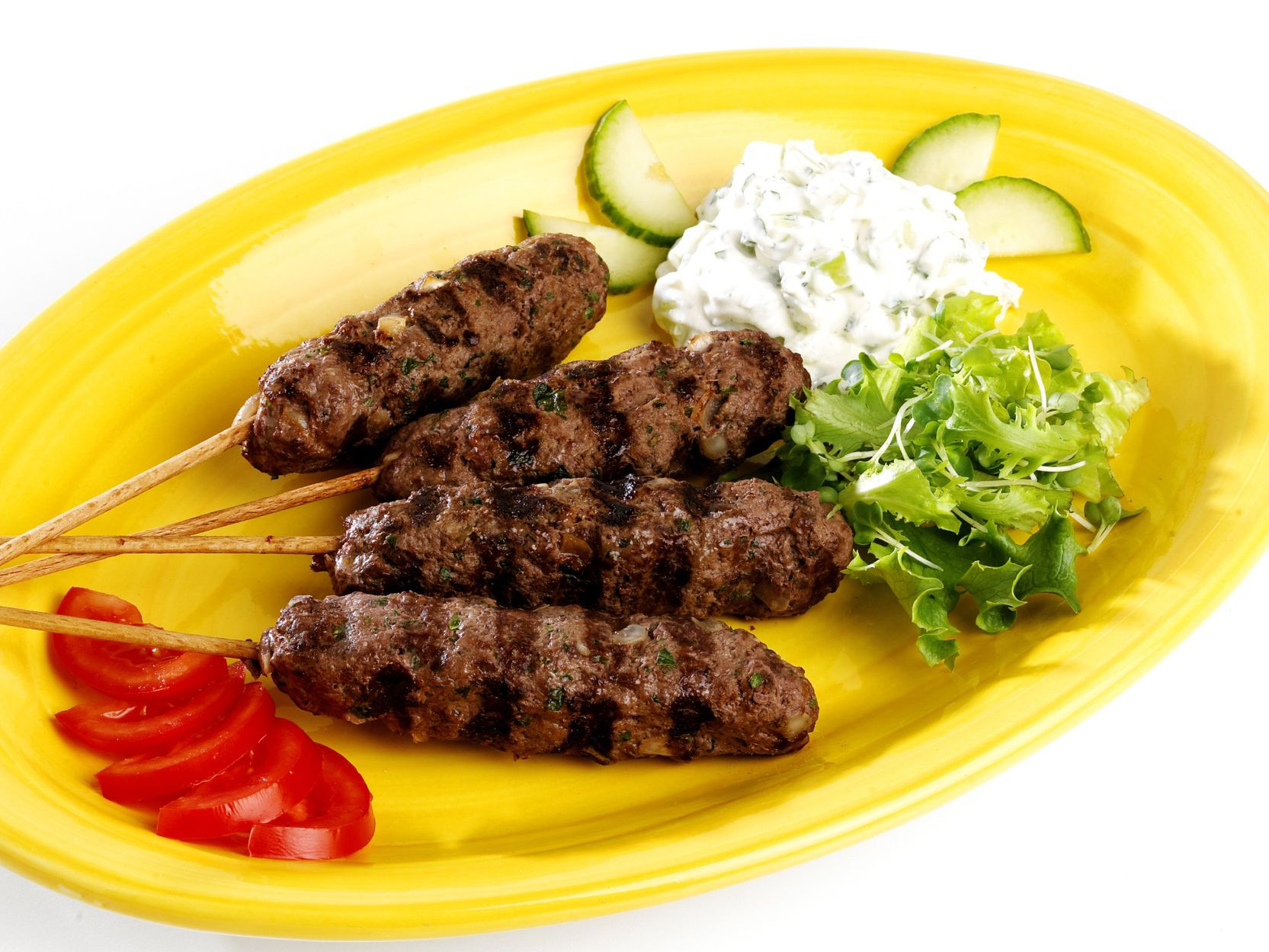 Middle Eastern Grilled Kofta Kebabs Recipe