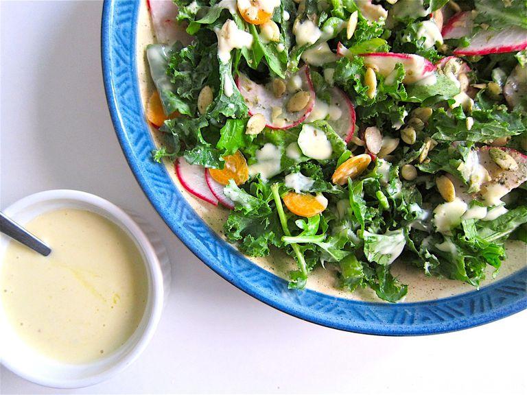 Creamy Tofu Salad Dressing
