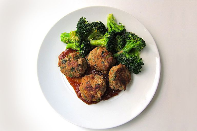 Cilantro and Scallion Meatballs