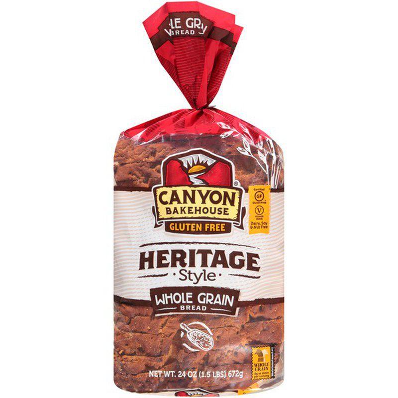 Canyon Bakehouse Gluten Free Heritage Style Whole Grain Bread