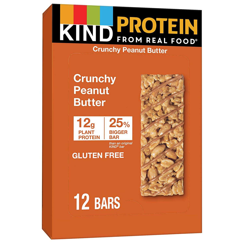 Kind Protein Bars, Crunchy Peanut Butter