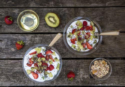 desayuno saludable con menos de 500 calorías