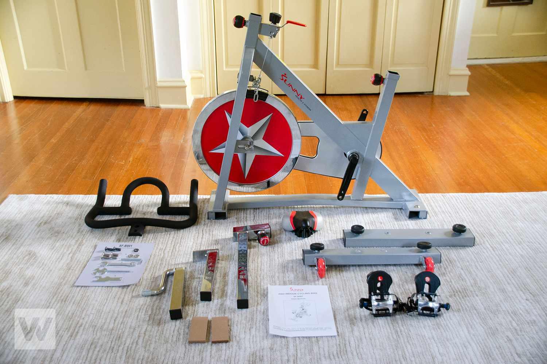 Sunny Health & Fitness SF-B901 Pro Indoor Cycling Bike