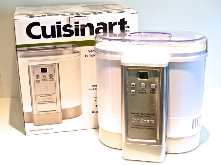 Cuisinart Yogurt maker on counter