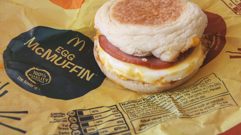 McDonald's Nutrition Facts: Healthy