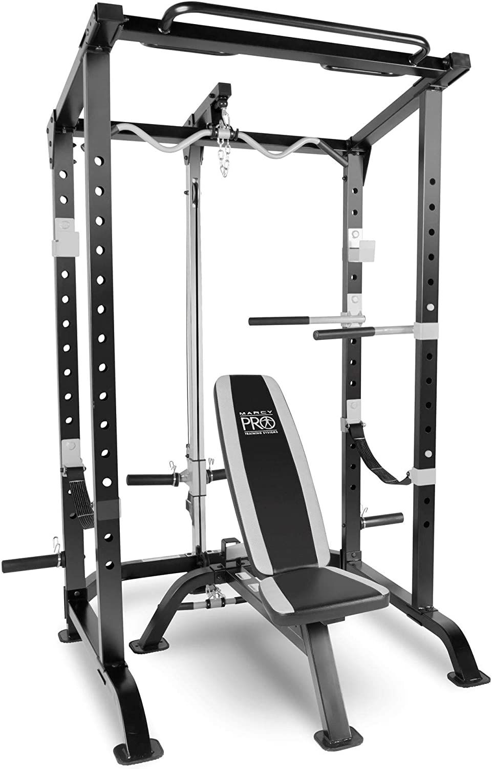 Marcy Fitness Pro Full Cage and Weight Bench