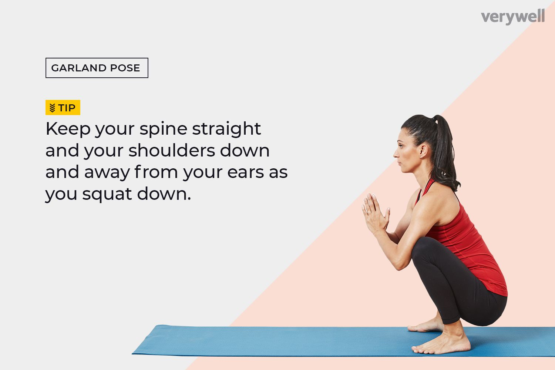 How to Do a Garland Pose (Malasana)