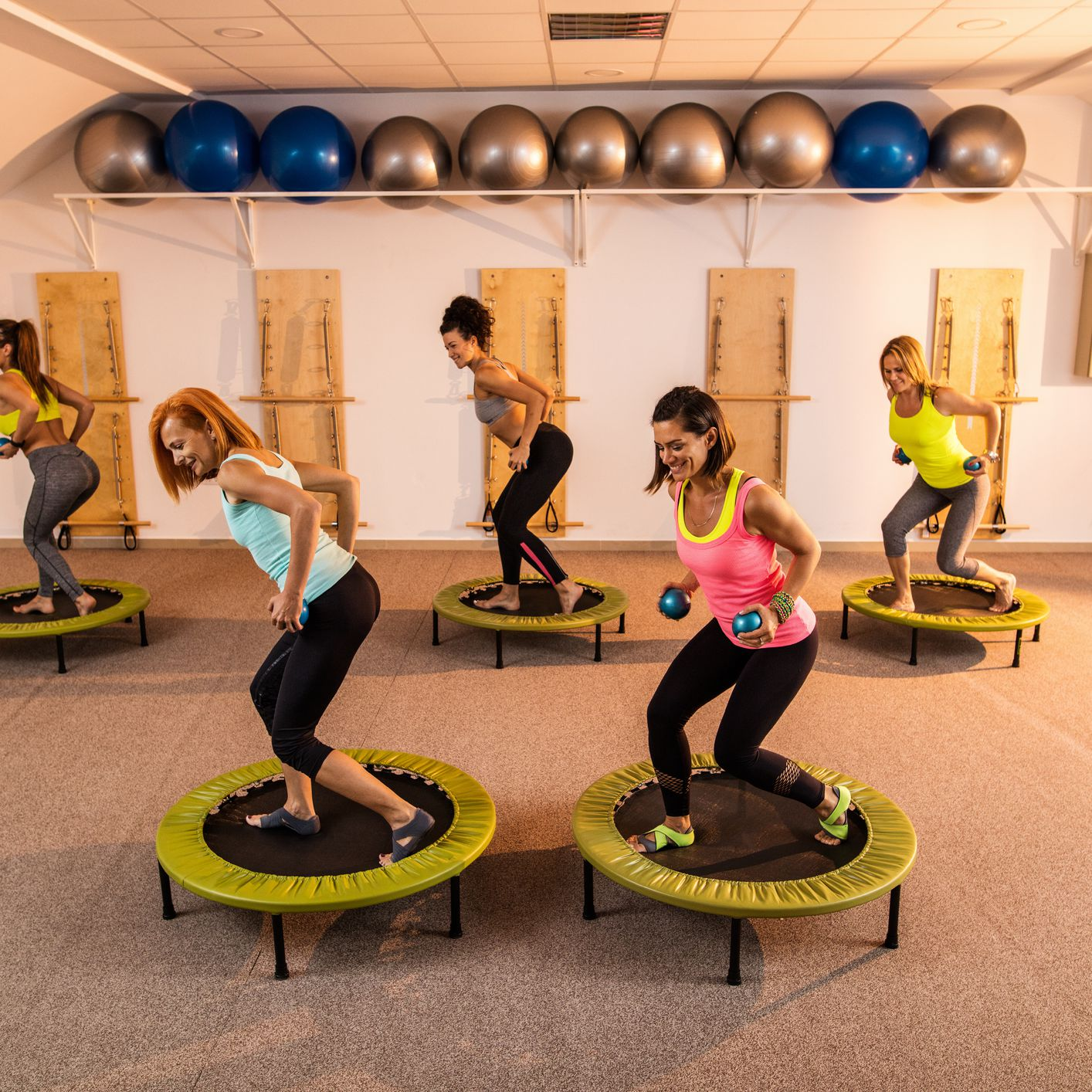 The Benefits of Home-Based Rebounding Exercise