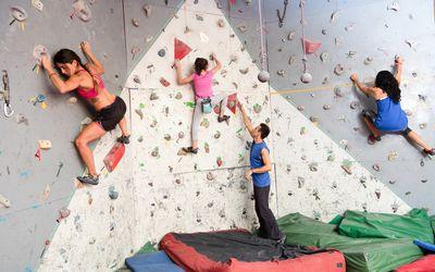 Climbing class