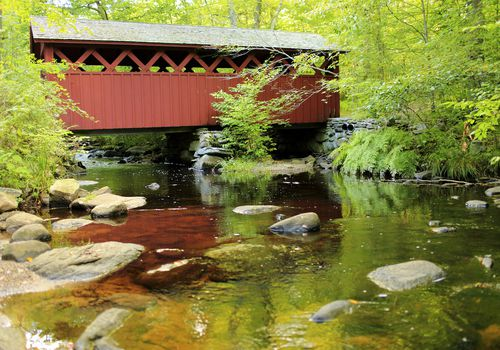 Puente cubierto - Chatford Hollow State Park CT
