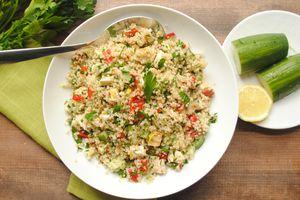 Quinoa Tabouli with Lemon-Cumin-Cayenne Dressing