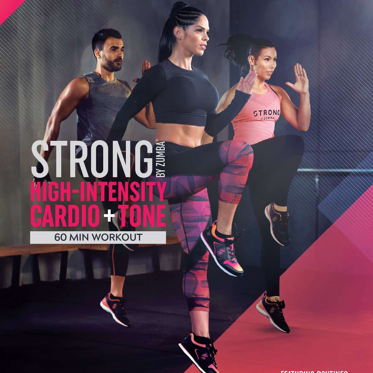 Strong by Zumba High-Intensity Cardio + Tone (1 DVD)