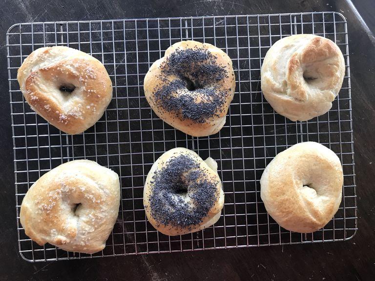 DIY bagels