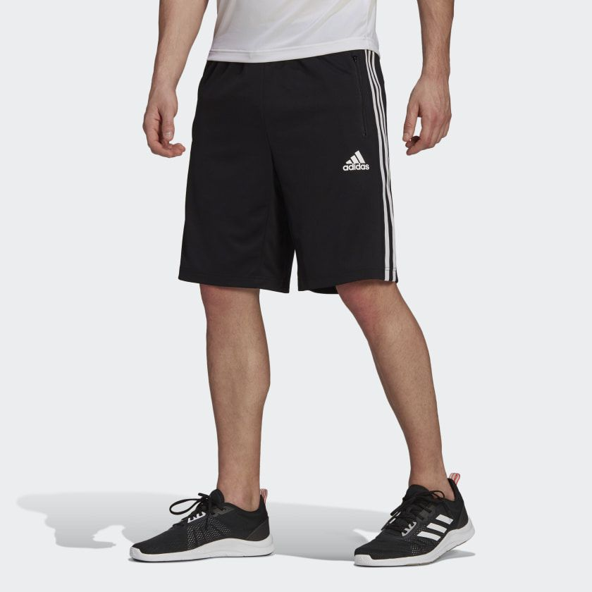 Adidas Designed 2 Move 3-Striped Primeblue Shorts