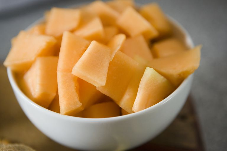 cantaloupe melons are high in vitamin c