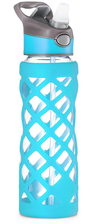 Swig Savvy Glass Water Bottle