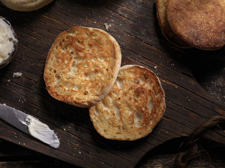Toasted English Muffin with Butter