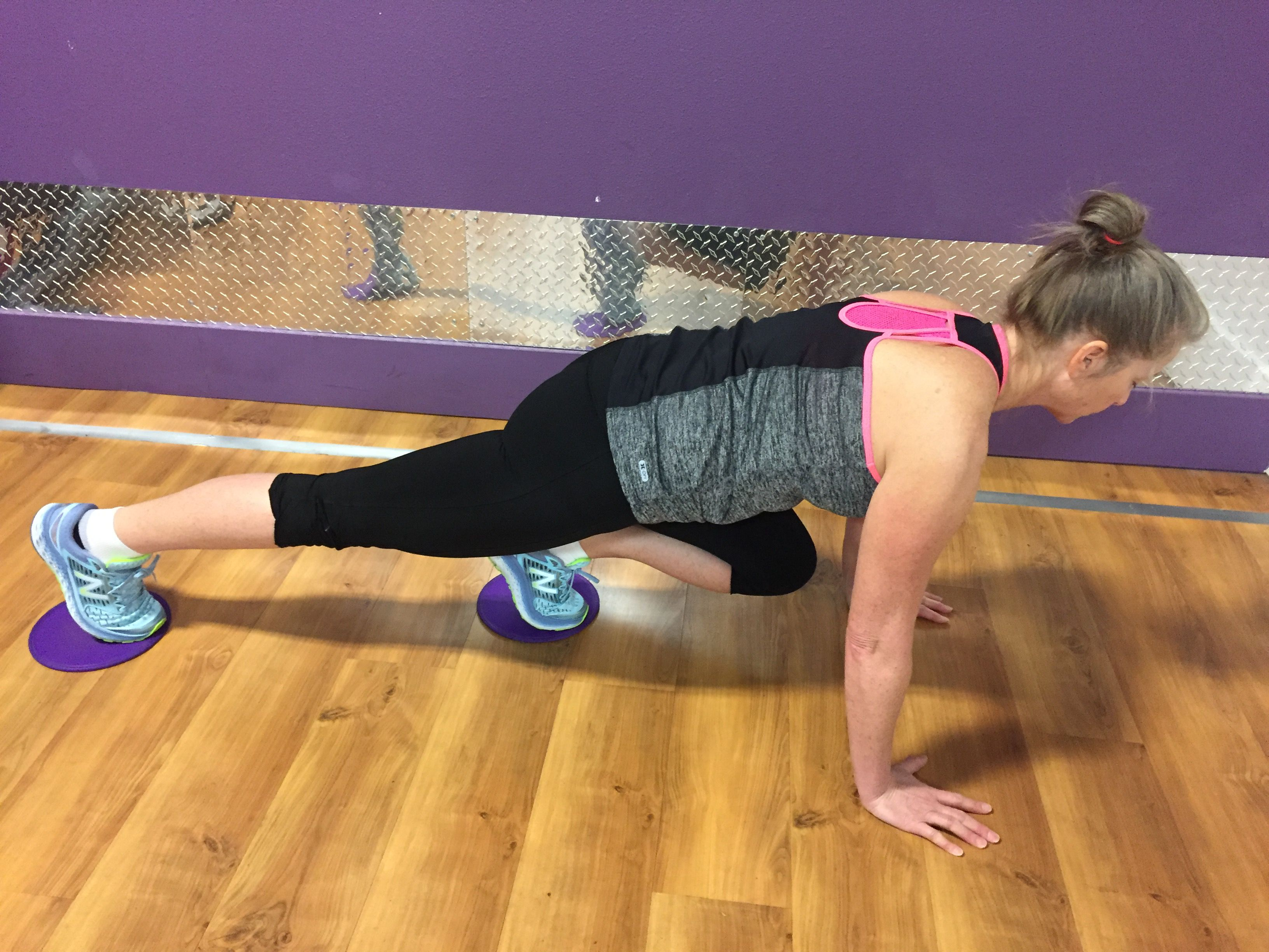 Get a Full-Body Workout With Sliding Disc Exercises