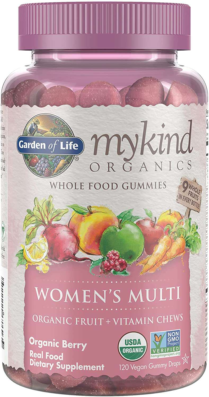 Garden of Life mykind Organics Women's Gummy Vitamins