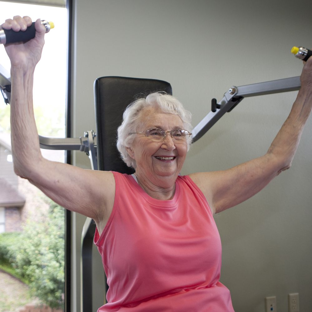 Personal Training for Seniors