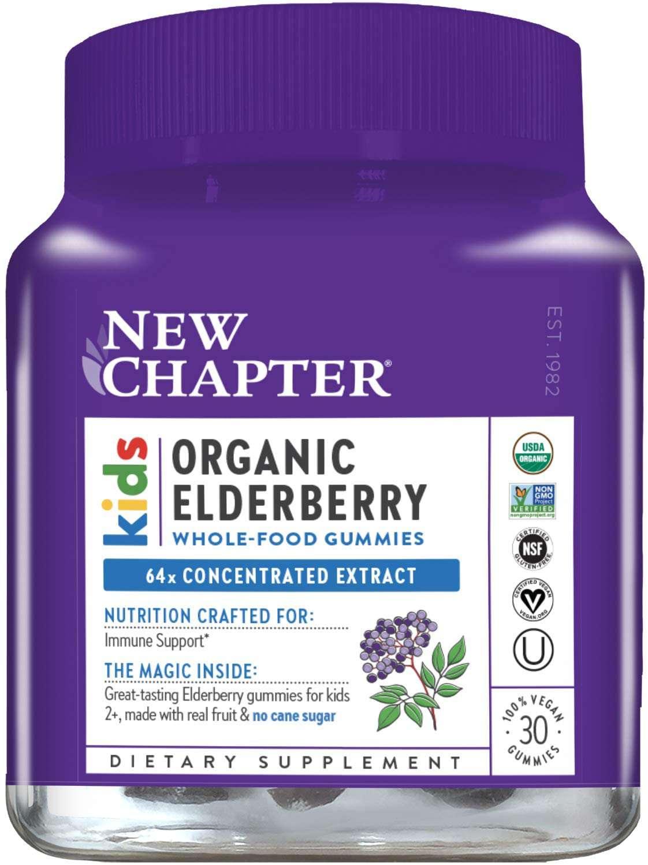New Chapter Kids Organic Elderberry Gummies