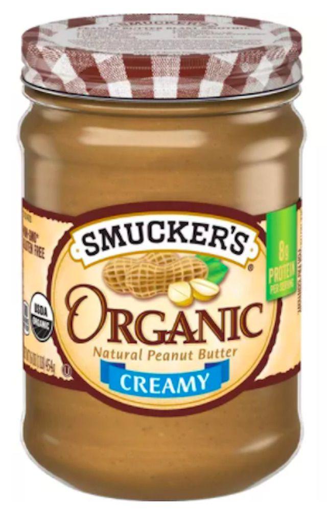 Smucker's Organic Natural Peanut Butter Creamy