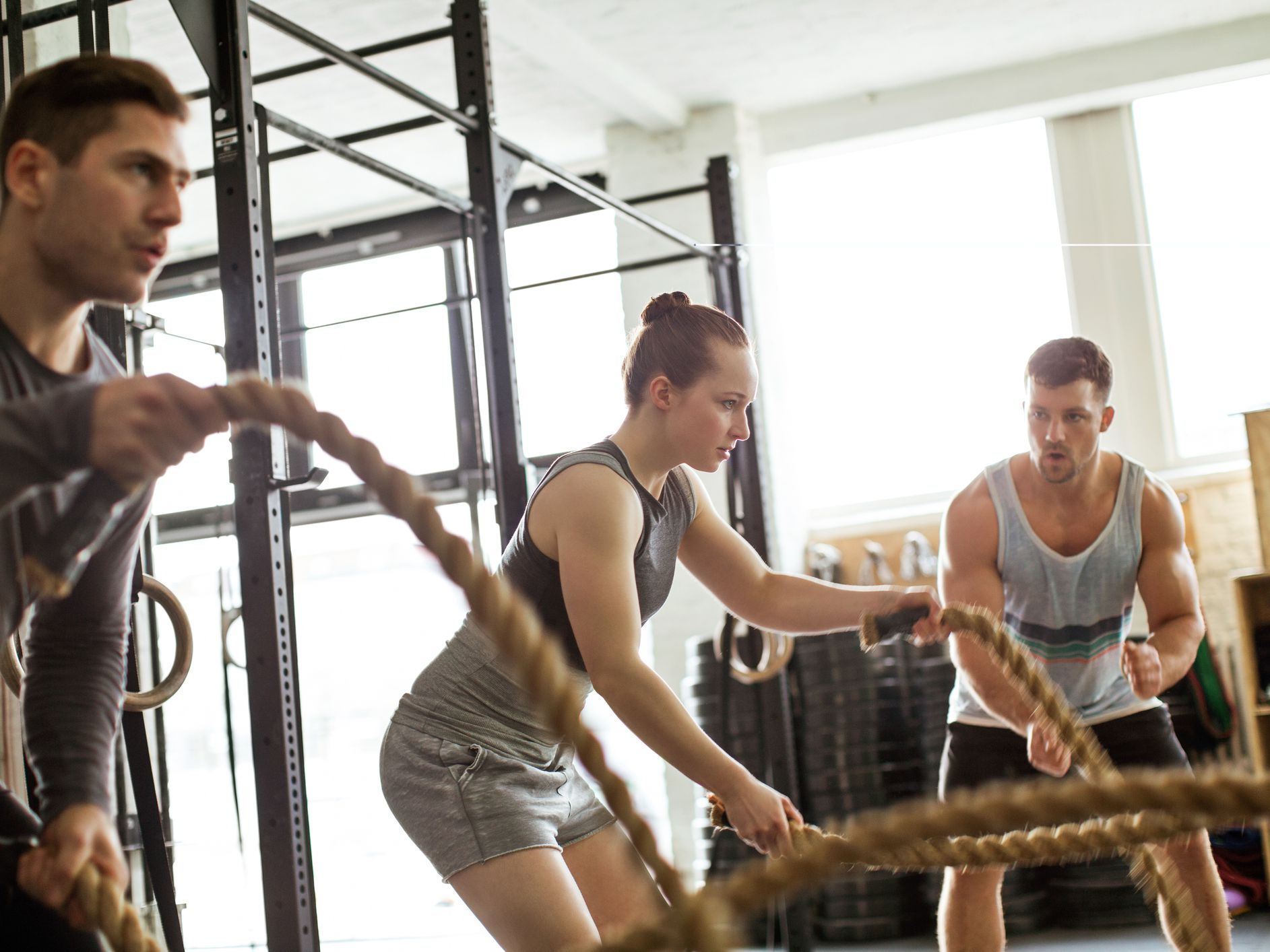 Crossfit and crossfit workouts