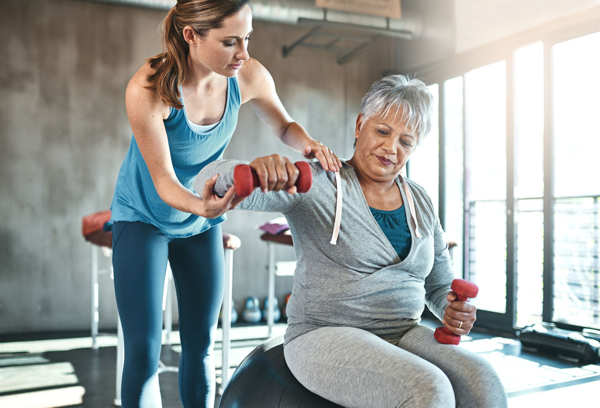 20-Minute Weight Training Workout for Seniors
