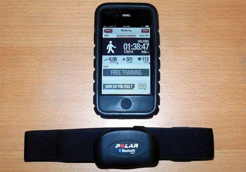 Correa para el pecho Bluetooth Polar H7 y aplicación Polar