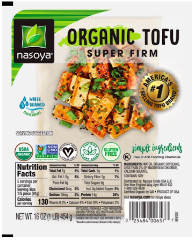 Nasoya Organic Tofu Super Firm
