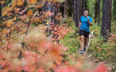 Runner in Missoula
