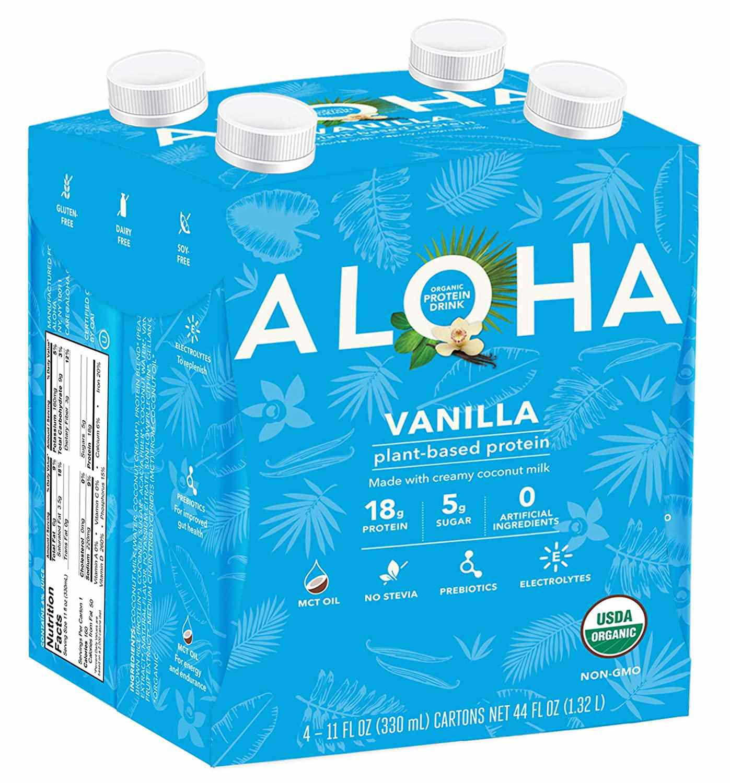 ALOHA Organic Plant Based Protein Shake