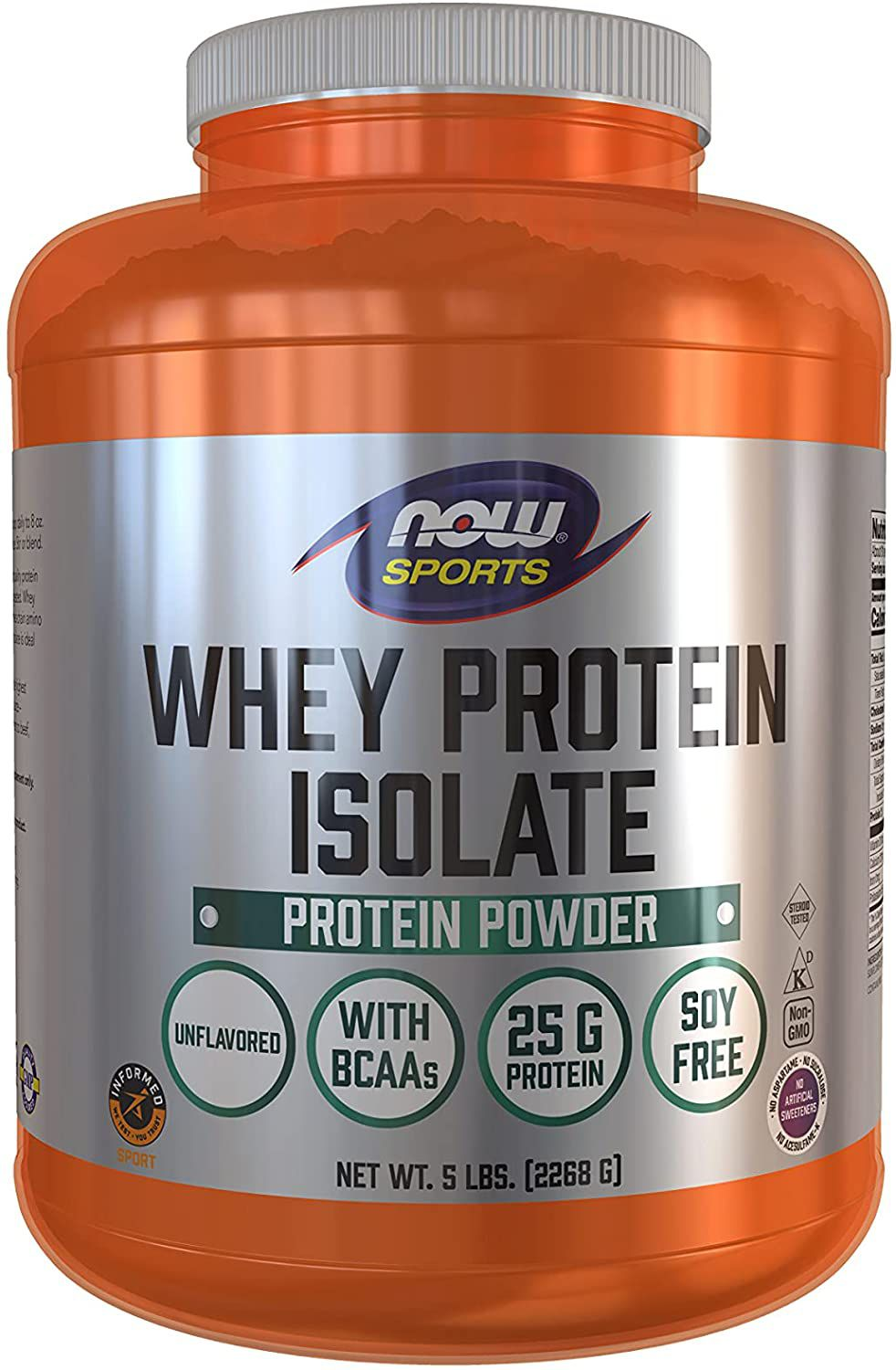 NOW Foods NOW Sports Whey Protein Isolate