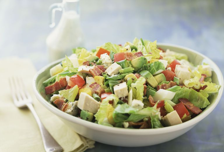 Low Carb Salad Recipe With Chicken Bacon And Apple