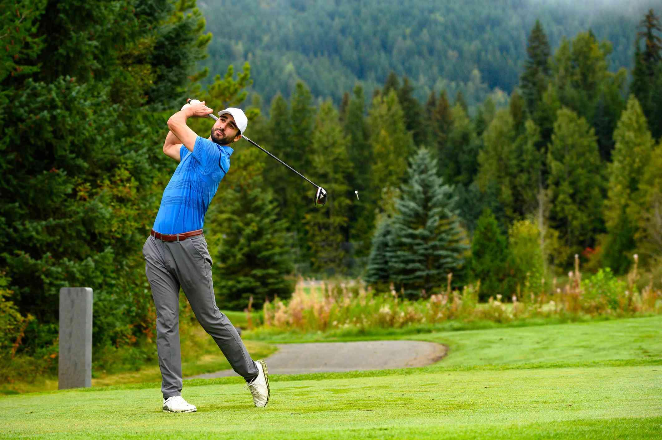 Golfer's swing