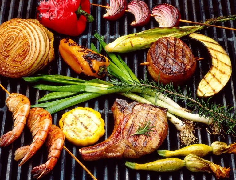 Paleo Food on the Grill