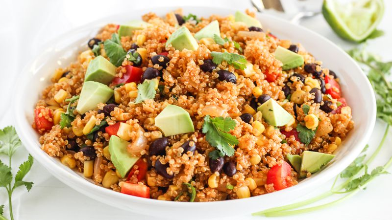 Vegetarian Southwest Quinoa Salad Recipe