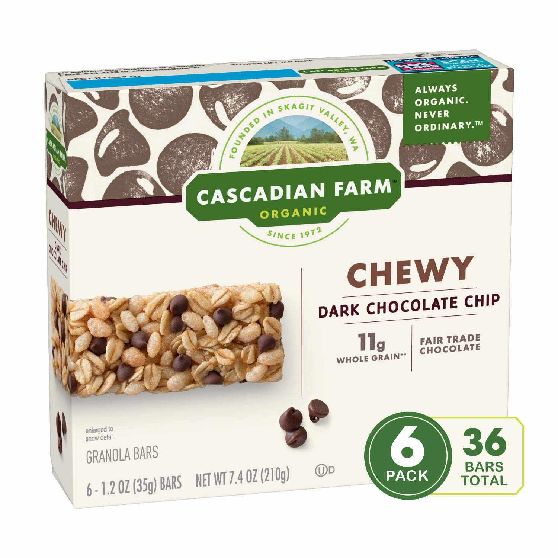 Cascadian Farm Organic Chocolate Chip Chewy Granola Bar