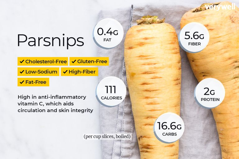 parsnips nutrition facts and health benefits