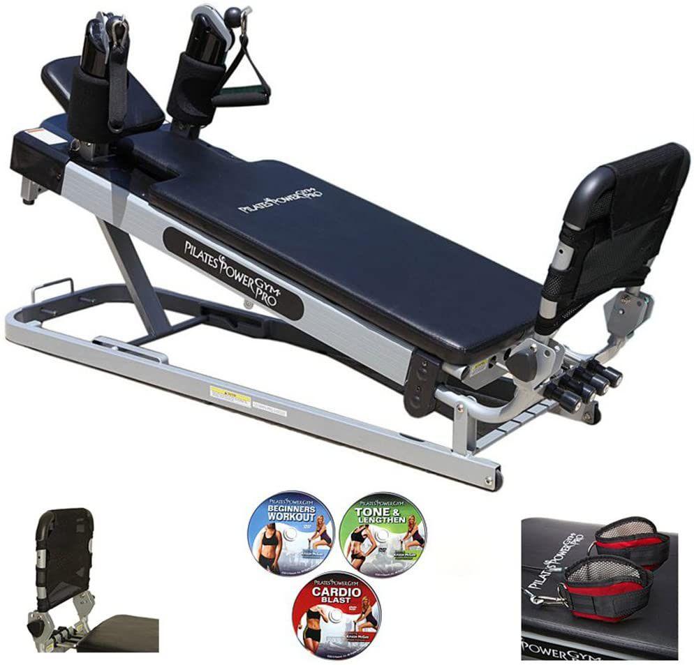 Pilates Power Gym Pro' 3-Elevation Reformer Exercise System