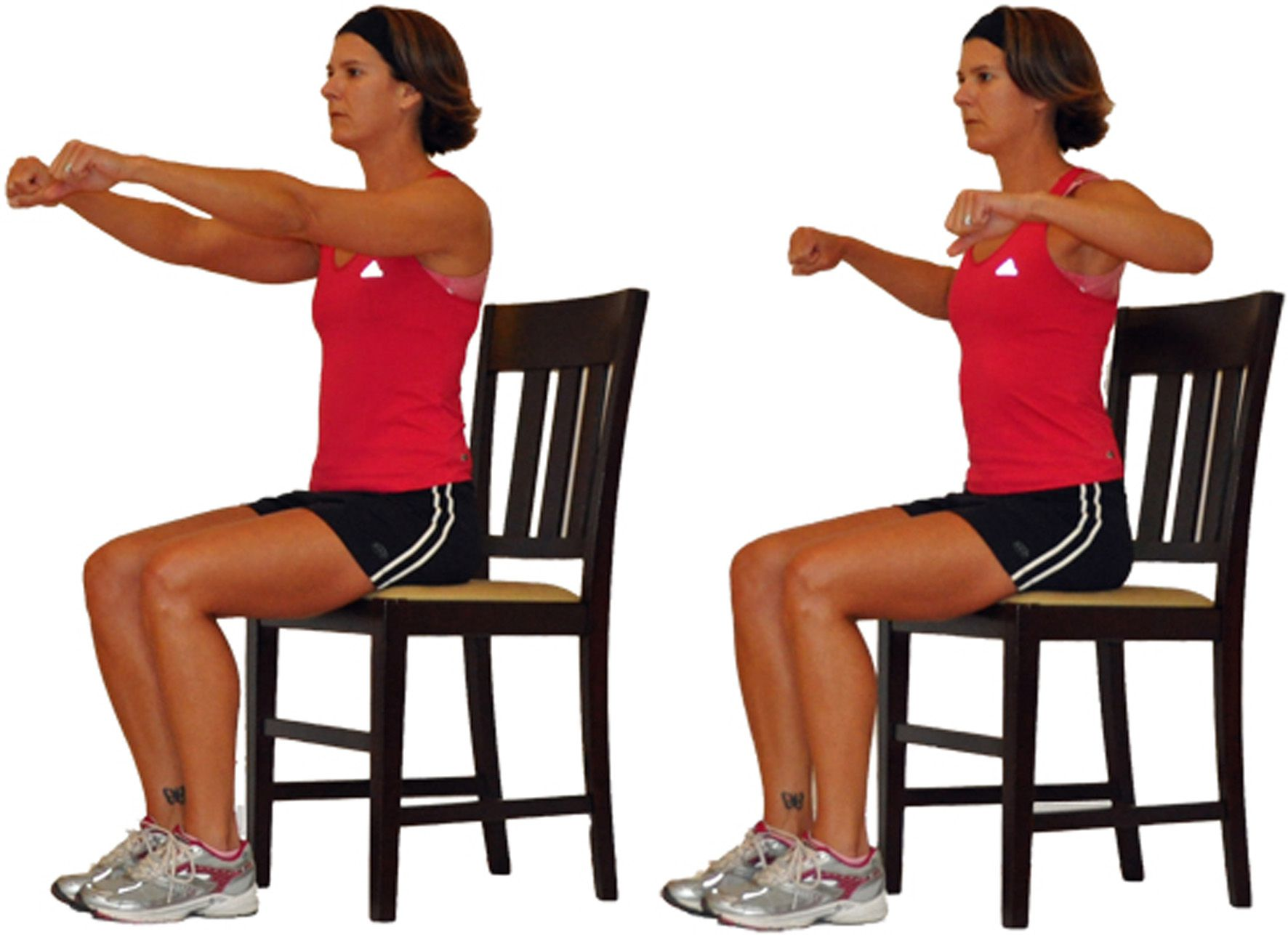 Seated upper body workout from your chair publicscrutiny Gallery