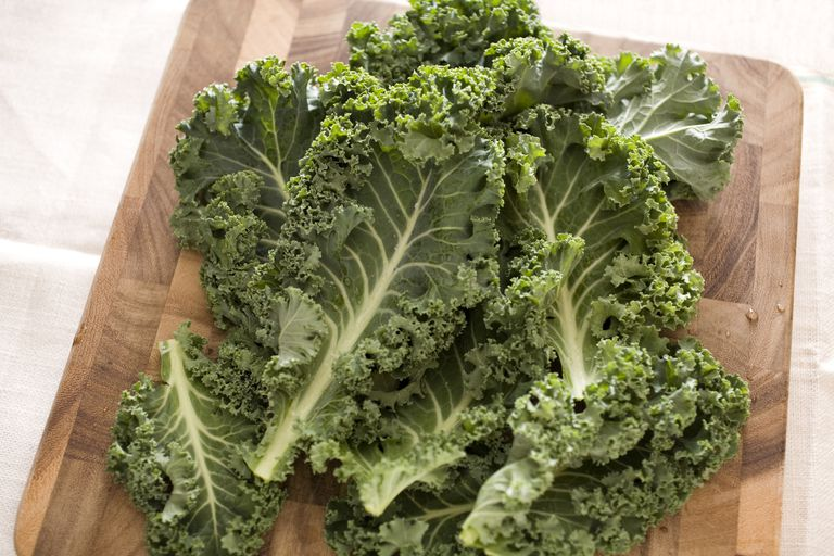 Kale is low in calories.
