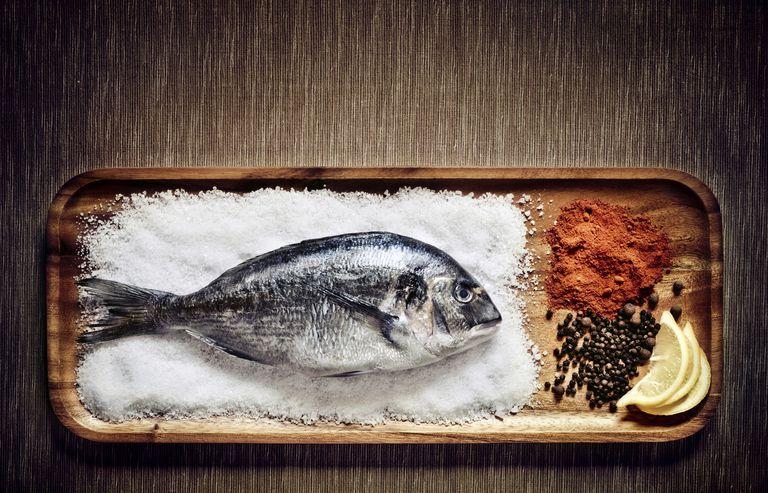 Fish on salt -- source of iodine