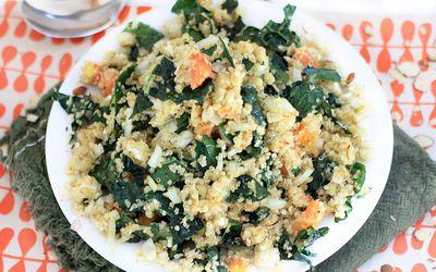 Zesty Gluten-Free Quinoa and Kale Salad