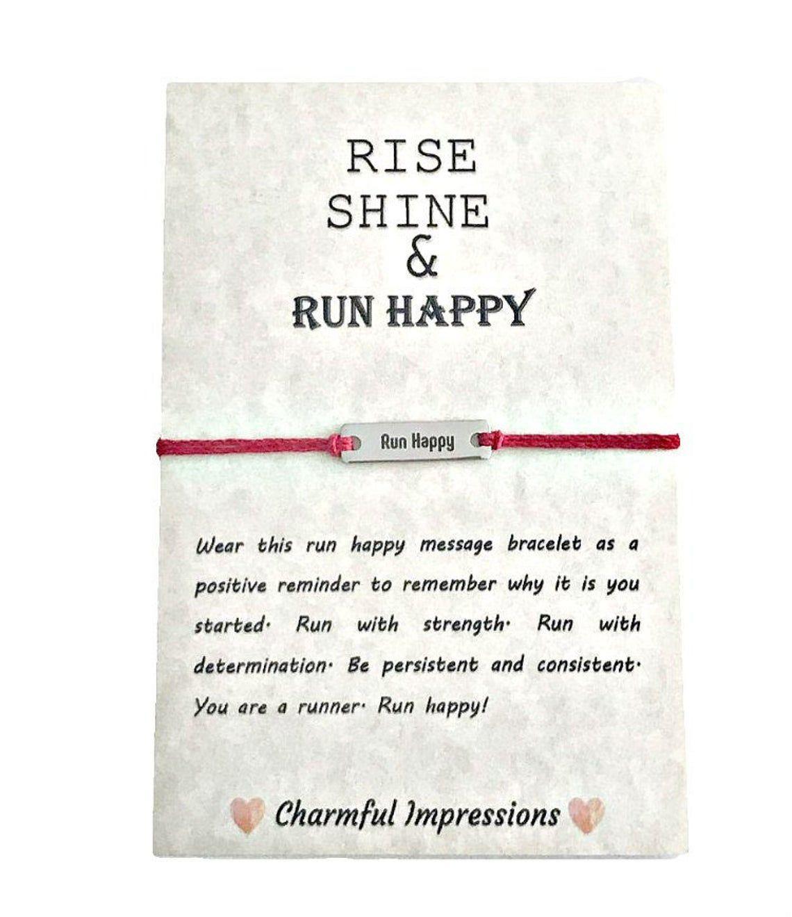 Run Happy Bracelet