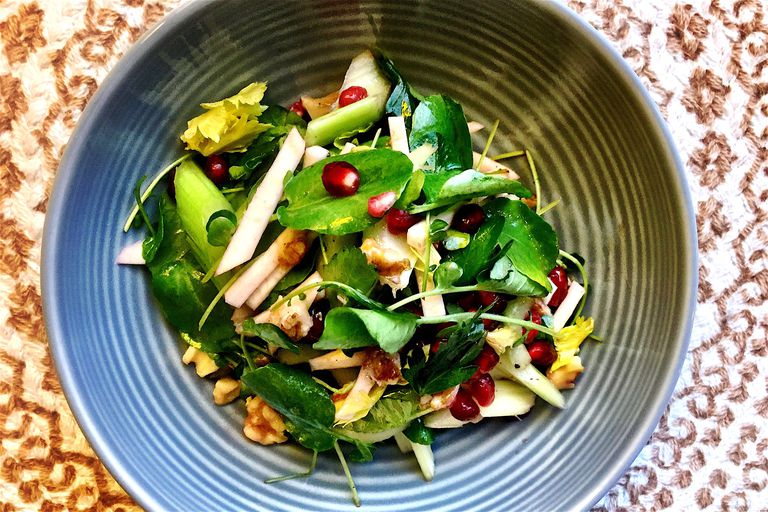 low carb pomegranate salad