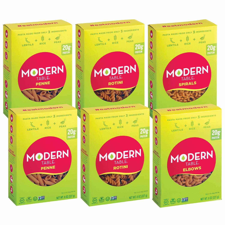 Modern Table Complete Protein Lentil Pasta