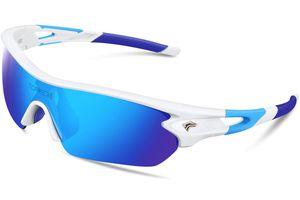 TOREGE Polarized Sports Sunglasses