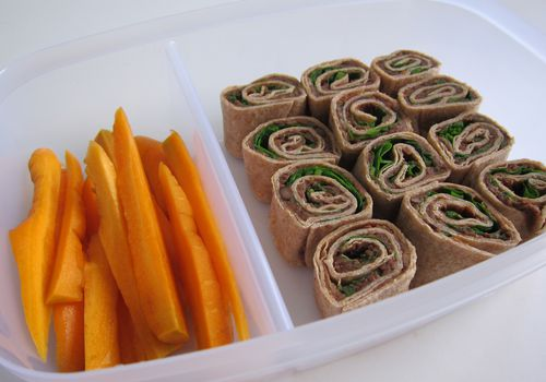 Black Beans and Greens Pinwheels