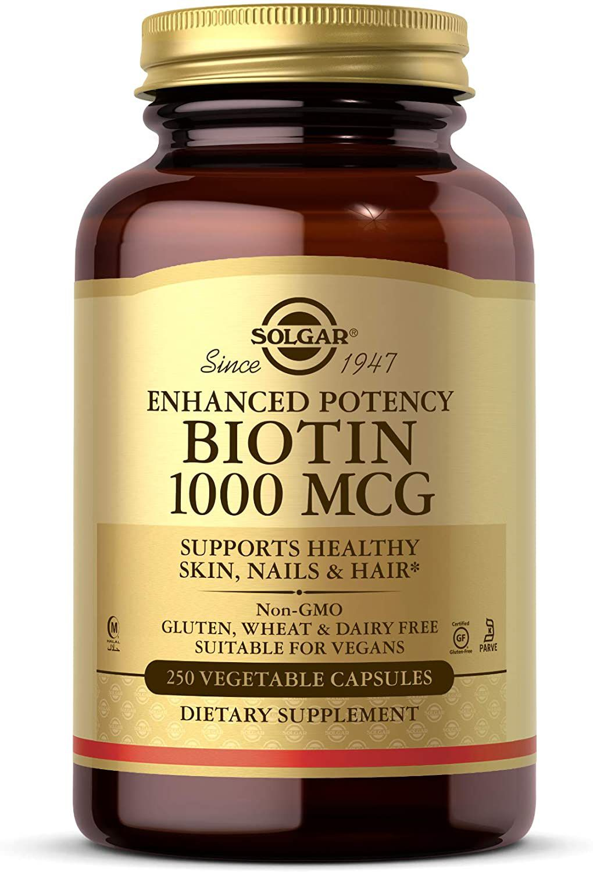 Solgar Biotin 1000 mcg